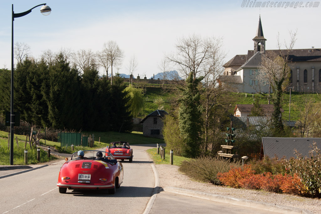 Porsche 356 Speedster - Chassis: 84706 - Driver: Regis Mathieu / Helene Mathieu  - 2014 Tour Auto