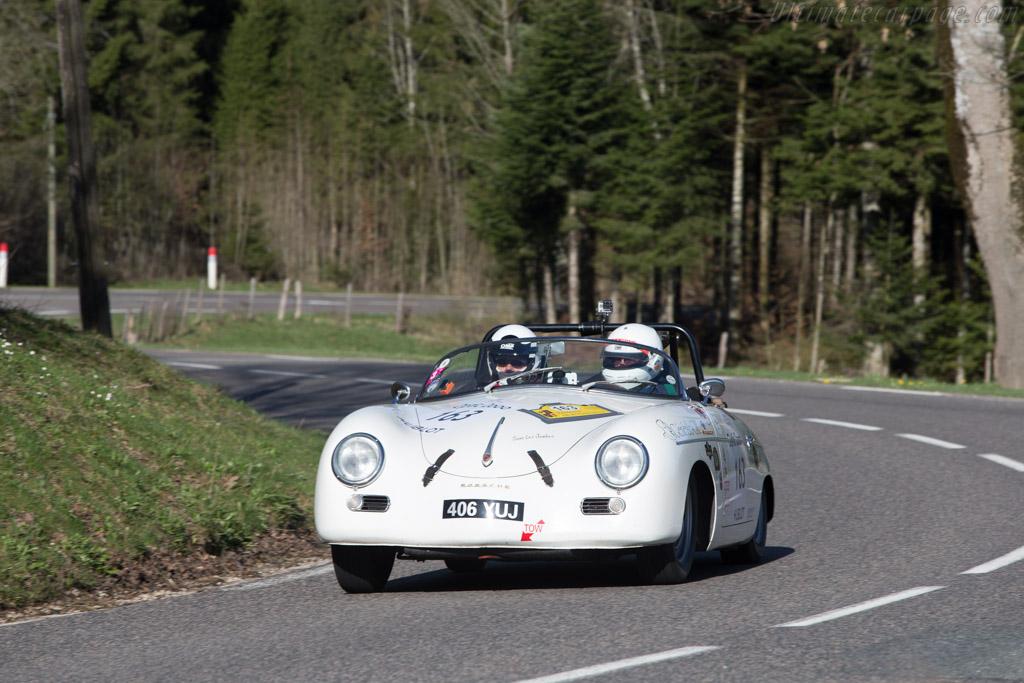 Porsche 356A 1500 GT Carrera Speedster - Chassis: 80736 - Driver: Vincent Tourneur / Laure Fiat  - 2014 Tour Auto