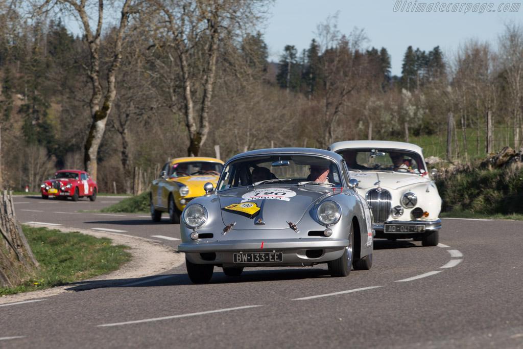 Porsche 356C - Chassis: 221505 - Driver: Philippe Dischamp / Jean-Michel Moinade  - 2014 Tour Auto