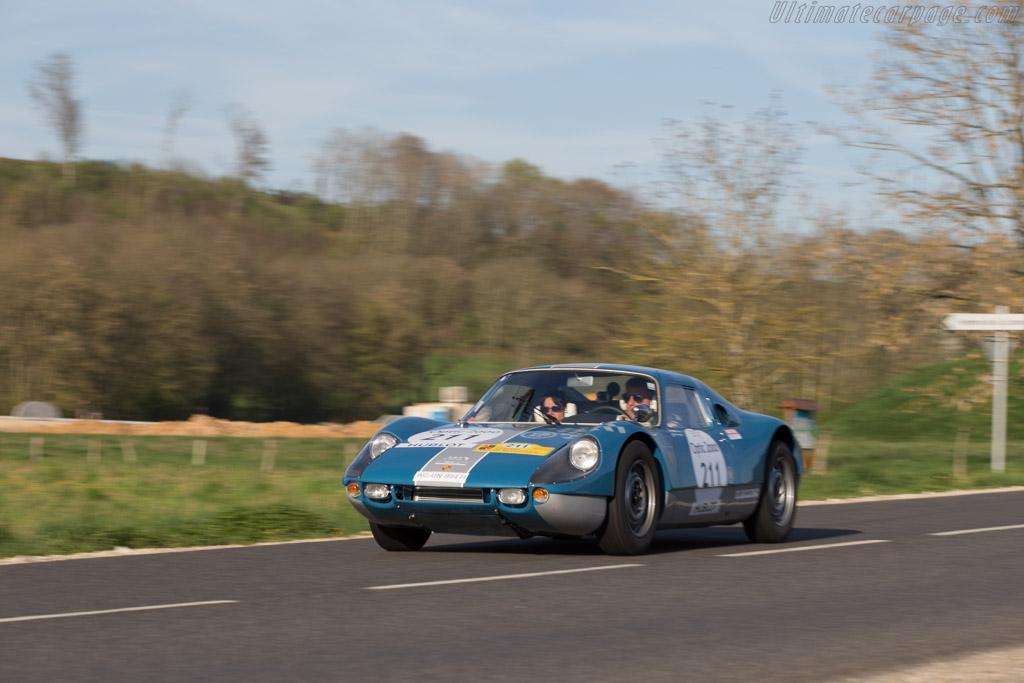 Porsche 904 - Chassis: 904-027 - Driver: Jean Marc Bussolini / Patricia Bussolini  - 2014 Tour Auto