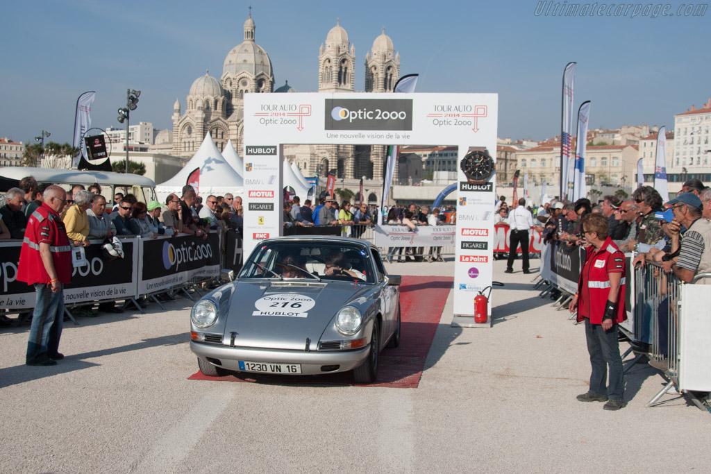 Porsche 911  - Driver: Damien Kohler / Sylvie Laboisne  - 2014 Tour Auto