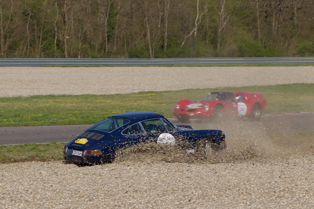 Porsche 911 - Chassis: 302036 - Driver: Stephan Koenig / Sophie Koenig  - 2014 Tour Auto