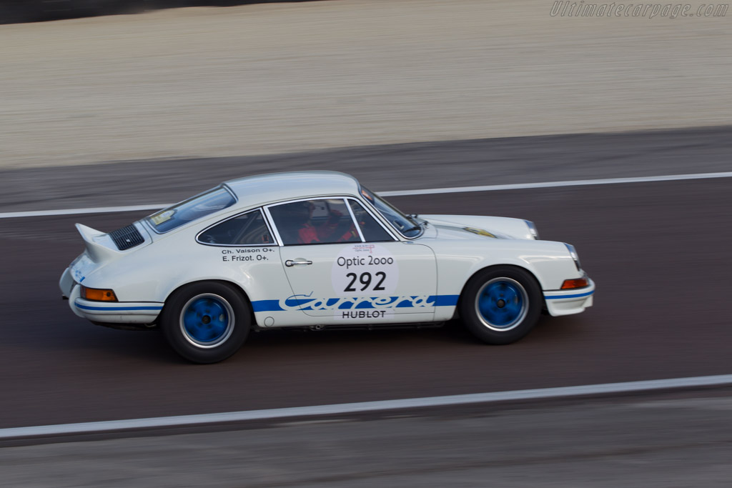 Porsche 911 Carrera RS 2.7 Lightweight - Chassis: 911 360 0665 - Driver: Christophe Vaison / Eric Frisot  - 2014 Tour Auto