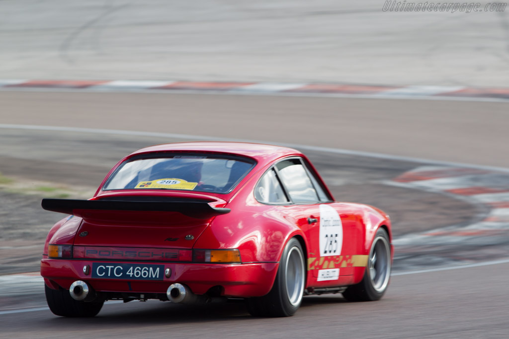 Porsche 911 Carrera RS 3.0 - Chassis: 911 460 9094 - Driver: Didier Denat / Barbara Denat  - 2014 Tour Auto