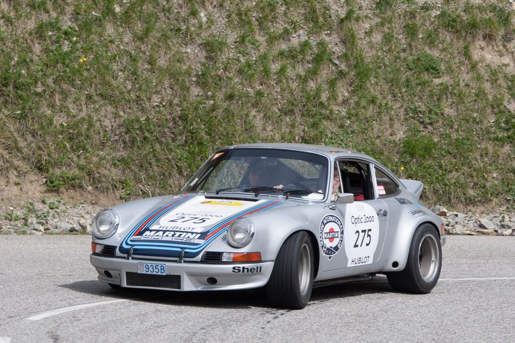 Porsche 911 Carrera RSR - Chassis: 911 360 0001 - Driver: Jurgen Barth / Claudio Roddaro  - 2014 Tour Auto