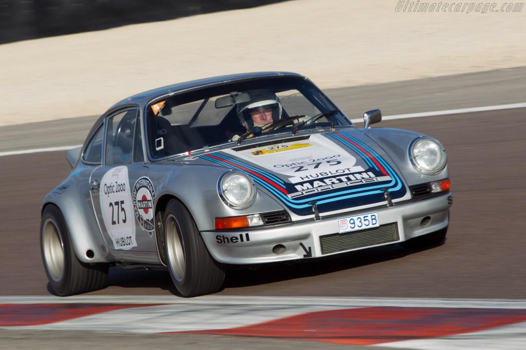 Porsche 911 Carrera RSR - Chassis: 911 360 0001 - Driver: Juergen Barth / Claudio Roddaro  - 2014 Tour Auto