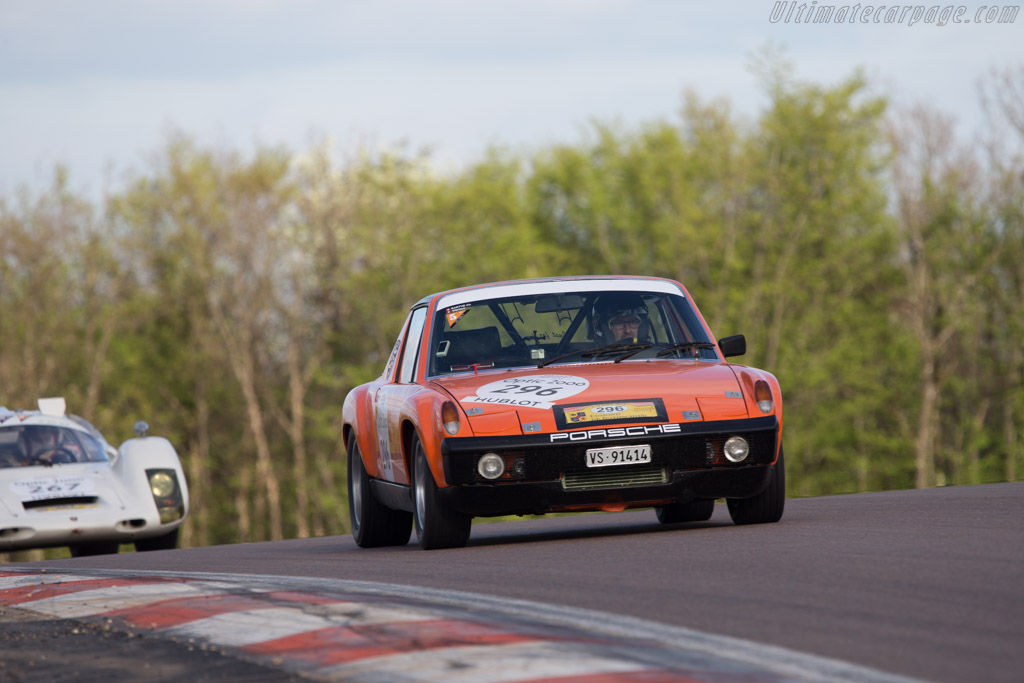 Porsche 914 6 Gt Chassis 9140432136 Driver Christophe Barthe Fabio Spirgi 2014 Tour Auto