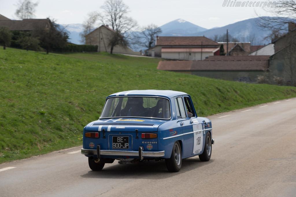 Renault 8 Gordini  - Driver: Gerard Salat / Jean-Pierre Biggi  - 2014 Tour Auto