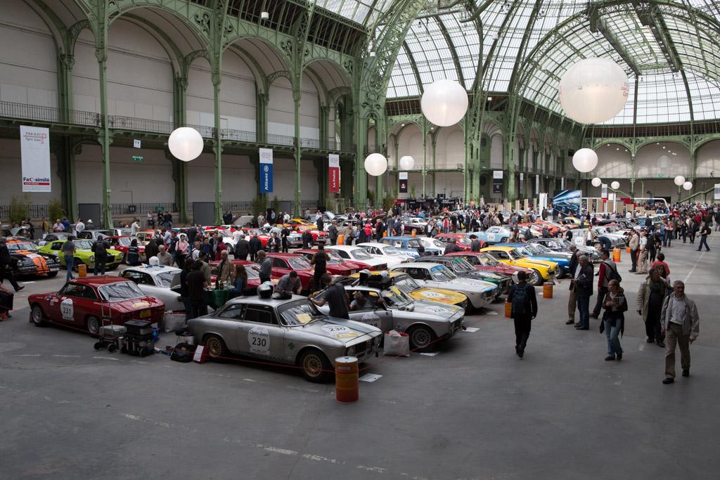 Welcome to the Grand Palais    - 2014 Tour Auto