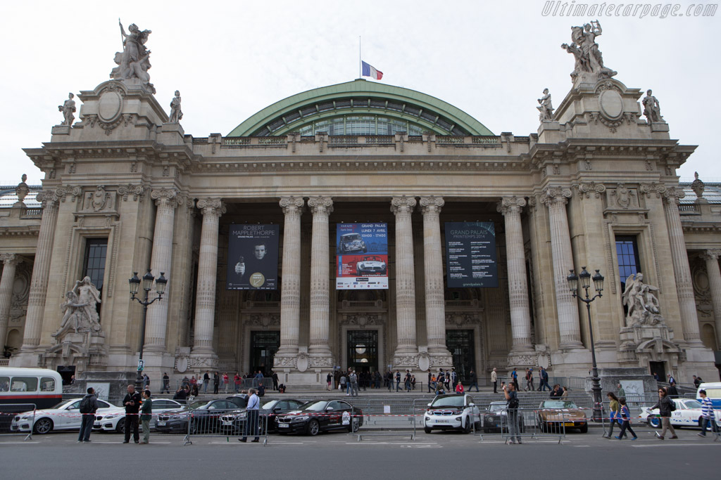 Welcome to the Grand Palais    - 2014 Tour Auto