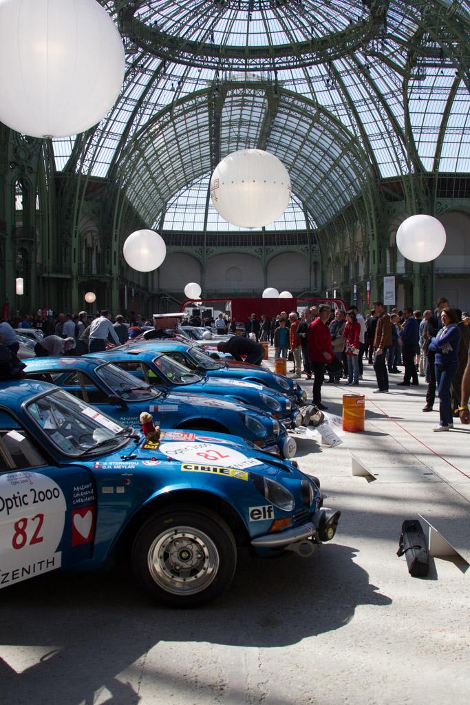 Alpine A110 1600 S - Chassis: 17134 - Driver: George Henri Meylan / Julien Stervinou  - 2015 Tour Auto