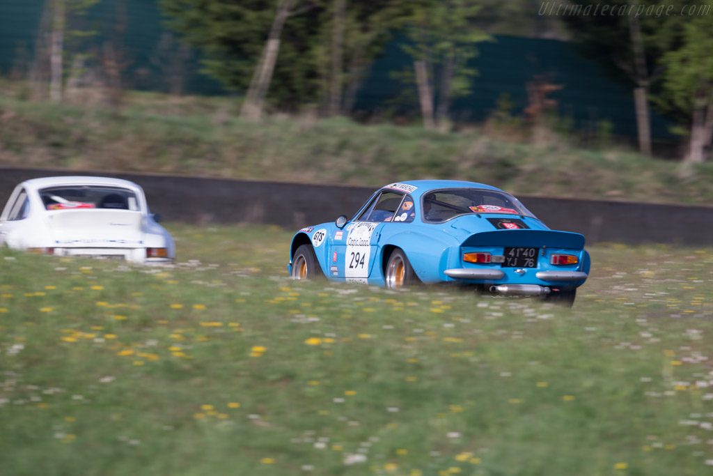 Car And Driver >> Alpine A110 1800 Group IV - Chassis: 18291 - Driver: Christian Chambord / Stephane Baschiera ...