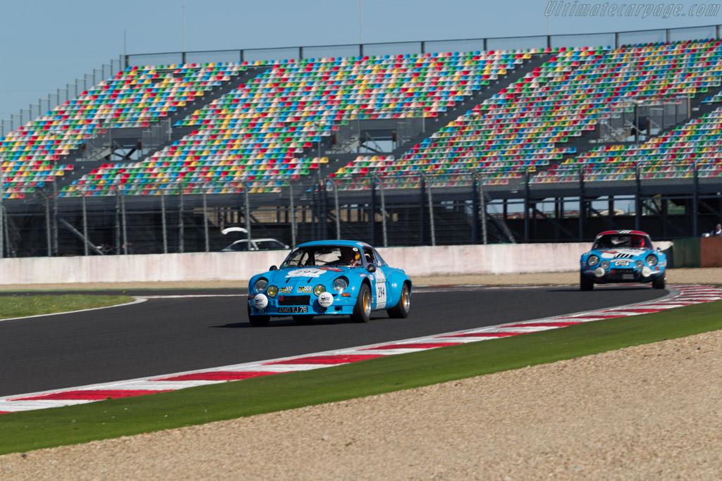 Alpine A110 1800 Group IV - Chassis: 18291 - Driver: Christian Chambord / Stephane Baschiera  - 2015 Tour Auto