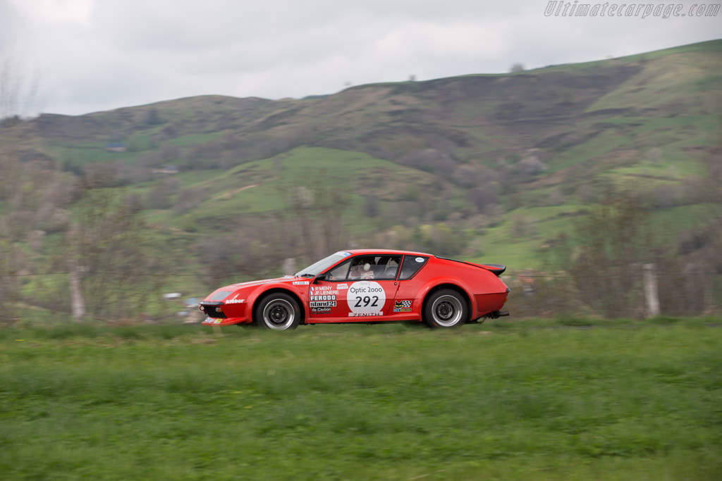Alpine A310 V6 Group IV - Chassis: 45865 - Driver: Gerard Besson / Marie Odile Besson  - 2015 Tour Auto