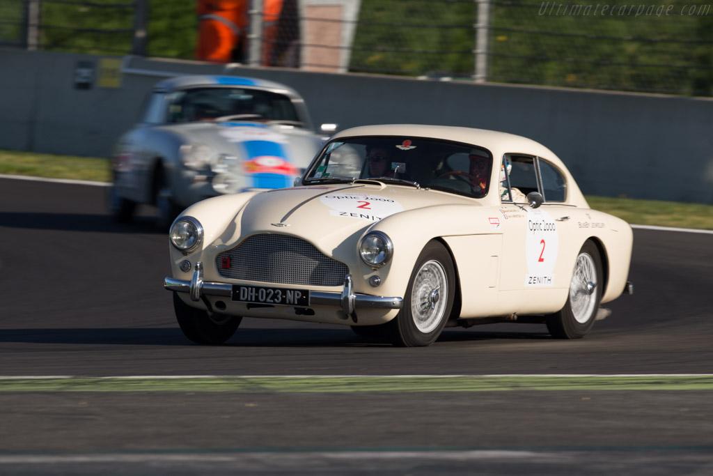 Aston Martin DB2/4 Mk III  - Driver: Benoit Dauchin / Yves Henry Menuteau  - 2015 Tour Auto