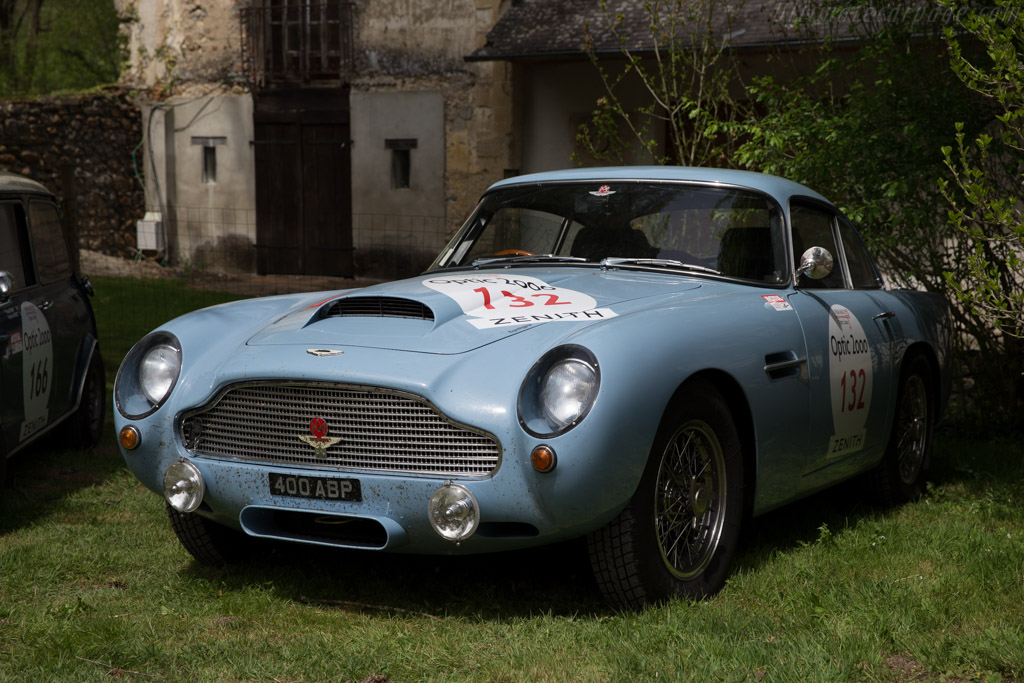 Aston Martin DB4 GT - Chassis: DB4GT/0136/R - Driver: Anthony P. Moody / Mari Mulyani  - 2015 Tour Auto