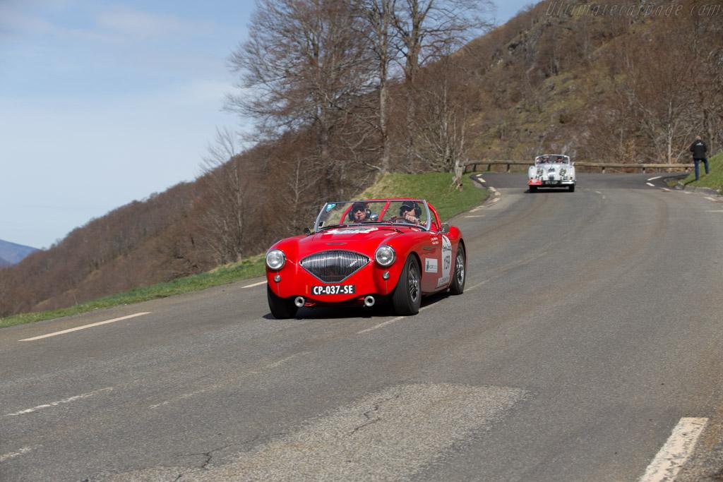 Austin Healey 100/4 - Chassis: BN1L/149635 - Driver: Stefano Friscia / Nathalia Friscia  - 2015 Tour Auto