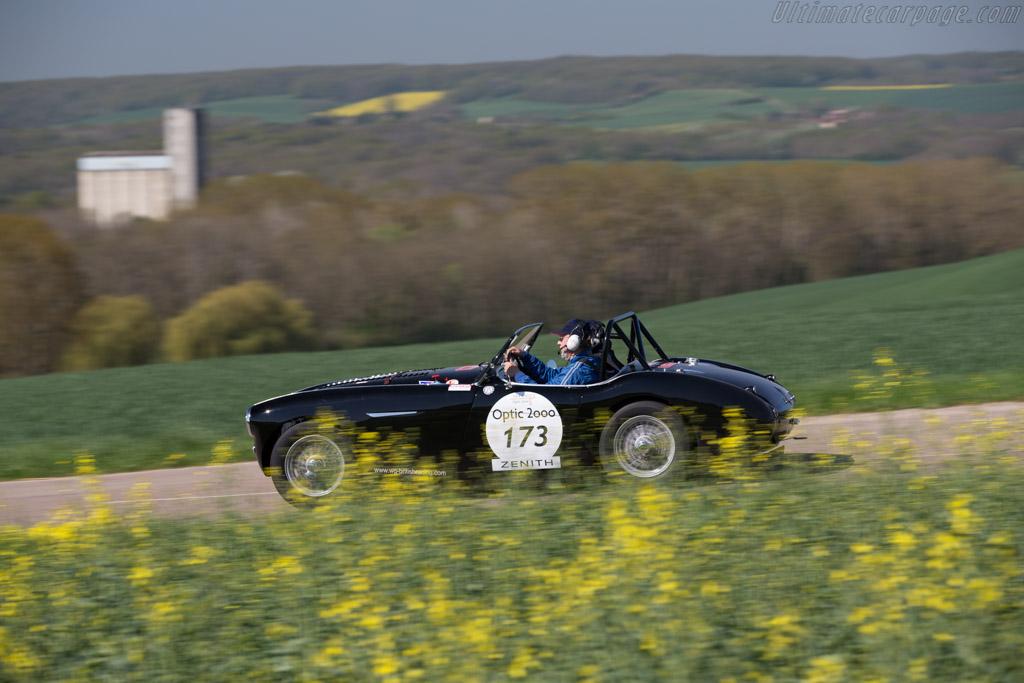 Austin Healey 100M - Chassis: BN2L/231478 - Driver: Jean Marie Fabre / Luc de Noyelle  - 2015 Tour Auto
