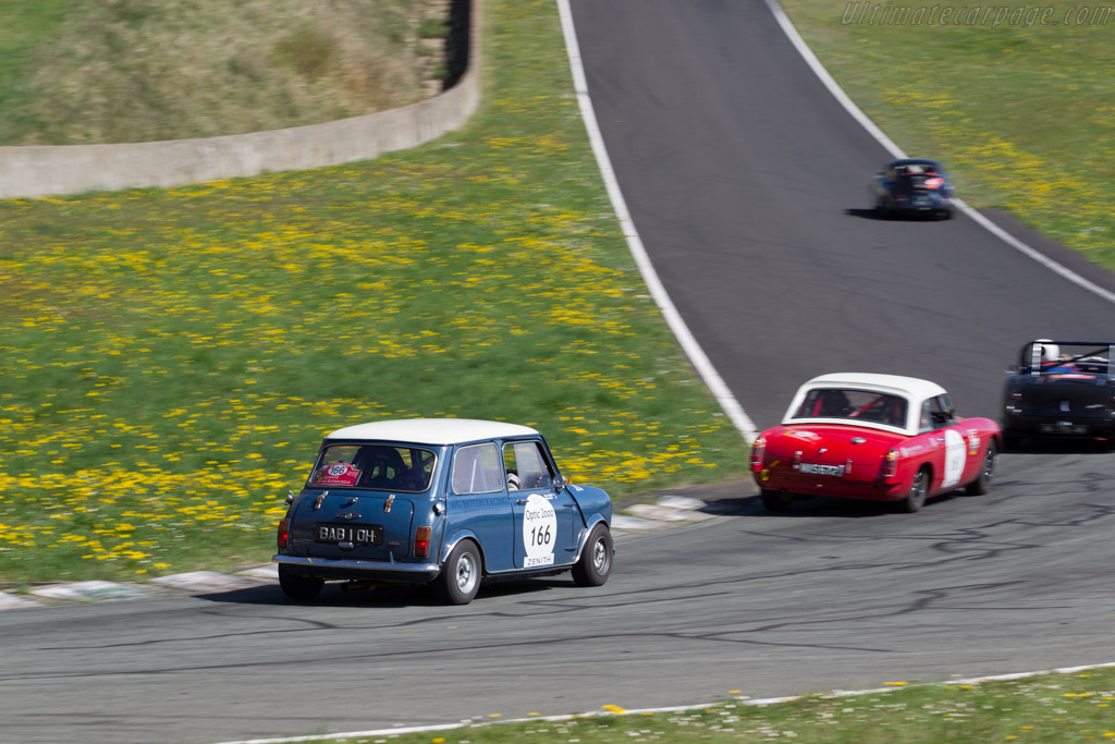Austin Mini Cooper S 1300  - Driver: Philippe Belin / Stephane Boulet  - 2015 Tour Auto
