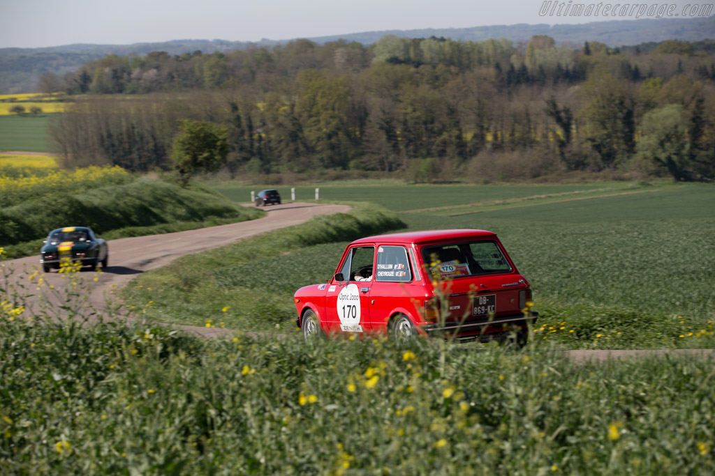 Autobianchi A112 Abarth  - Driver: Benoit d'Halluin / Nicolas Cheyrouze  - 2015 Tour Auto