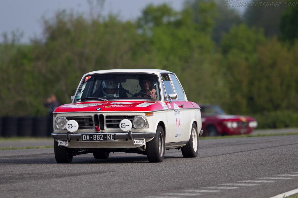 BMW 2002 TI  - Driver: Jean-Paul Lacombe / Adrien Lacombe  - 2015 Tour Auto