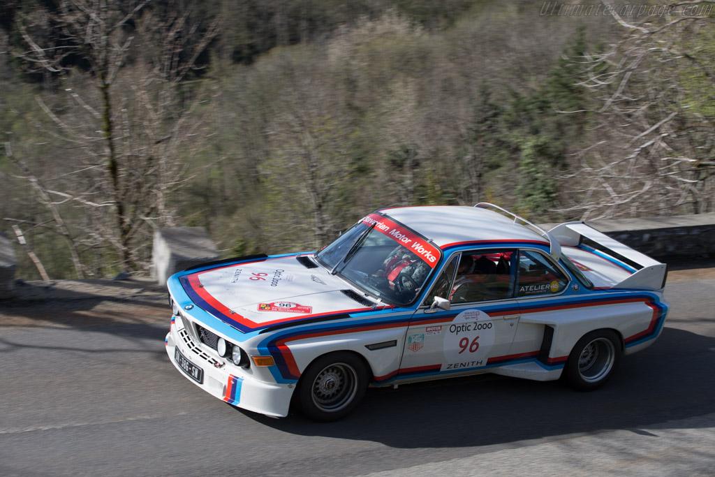 BMW 3.0 CSL  - Driver: Olivier Monot  - 2015 Tour Auto