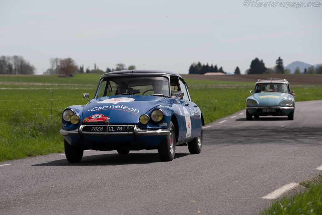 Citroën DS19 - Chassis: 4470078 - Driver: Marc Andre Biehler / Arnaud Ribault  - 2015 Tour Auto