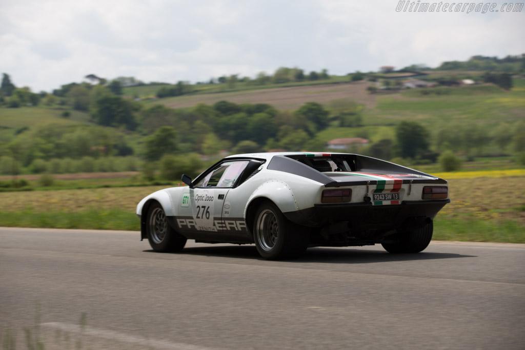 DeTomaso Pantera Group 4 - Chassis: 04834 - Driver: Didier Sirgue / Jerome Sirgue  - 2015 Tour Auto