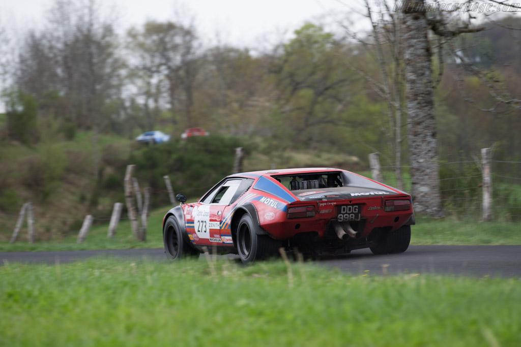 DeTomaso Pantera Group 4 - Chassis: 05855 - Driver: Patrick Hautot / Sylvain Cantrel  - 2015 Tour Auto