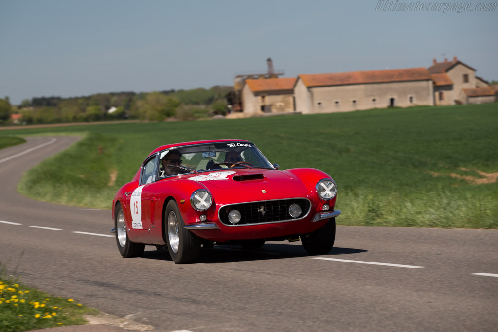 Ferrari 250 GT SWB - Chassis: 3143GT - Driver: Martin H. Sucari / Cristian Bertsch  - 2015 Tour Auto