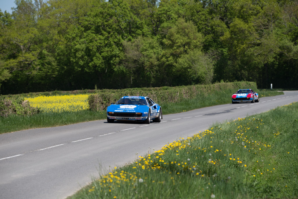 Ferrari 308 GTB Group 4 - Chassis: 31135 - Driver: Francois-Xavier Entremont / Jacques Entremont  - 2015 Tour Auto