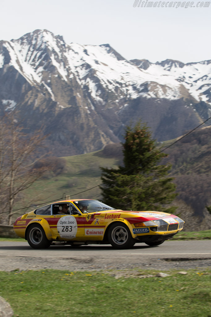 Ferrari 365 GTB/4 Group 4 - Chassis: 16717 - Driver: Alexander Rittweger / Sam Hancock  - 2015 Tour Auto