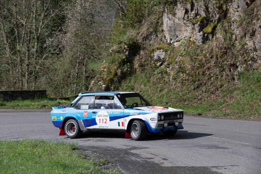 Fiat 131 Abarth  - Driver: Michel Chabran / Eric Mallen  - 2015 Tour Auto