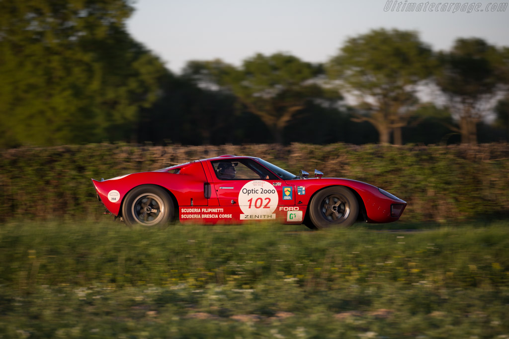 Ford GT40 - Chassis: GT40P/1042 - Driver: Phil Mulacek  - 2015 Tour Auto