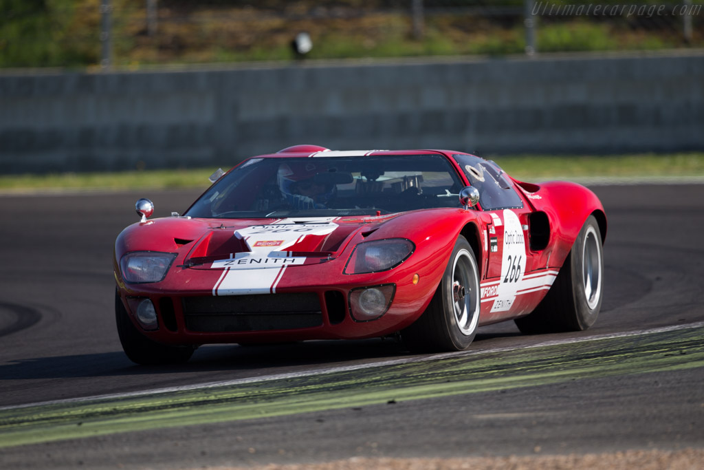 Ford GT40 - Chassis: GT40P/1089 - Driver: Philippe Vandromme / Frederic Vivier  - 2015 Tour Auto