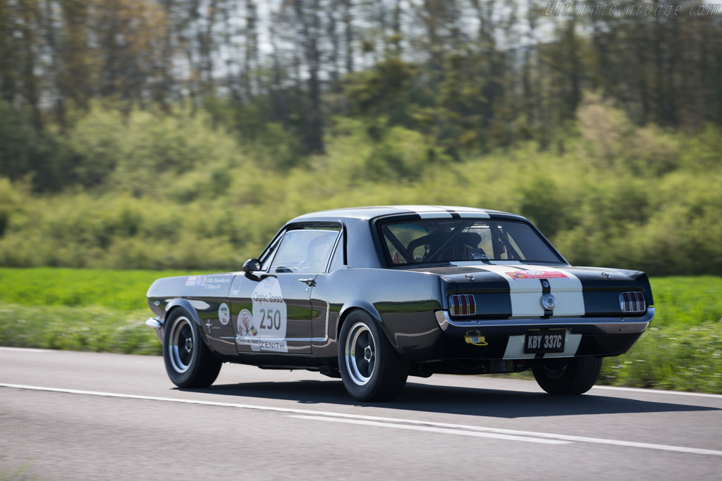 Ford Mustang GT - Chassis: 5R07C200346 - Driver: Christian Dumolin / TILBER  - 2015 Tour Auto