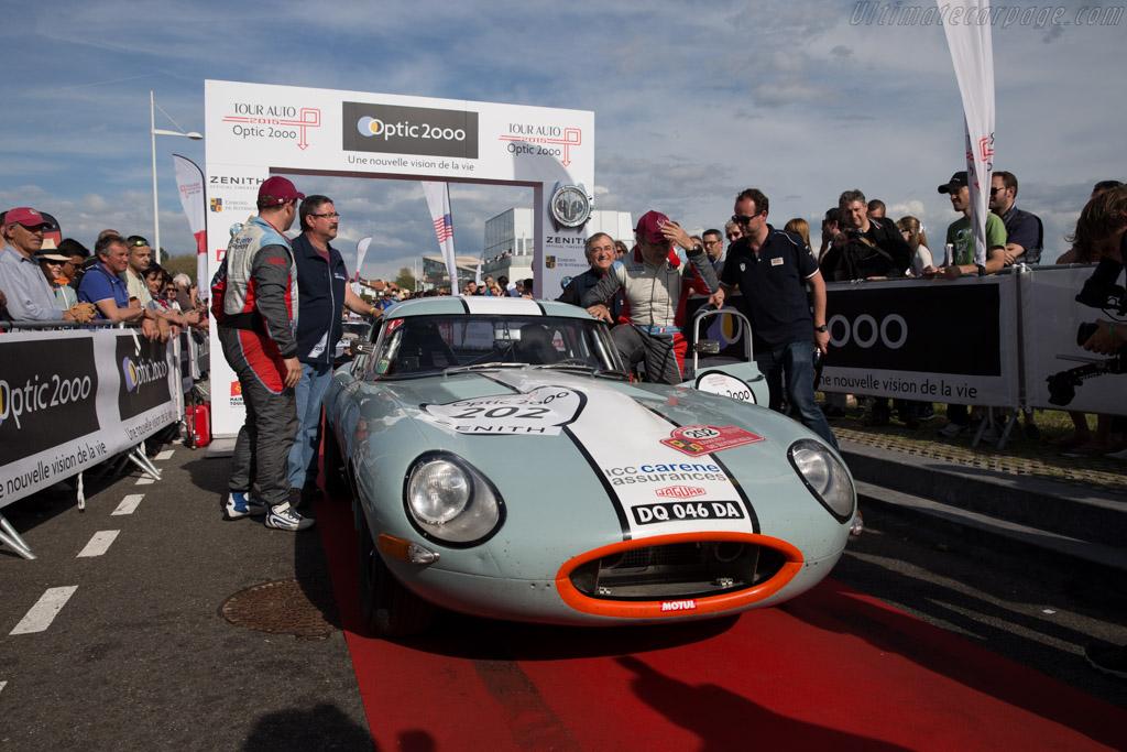 Jaguar E-Type 3.8 - Chassis: 876856 - Driver: Jean-Pierre Lajournade / Christophe Bouchet  - 2015 Tour Auto