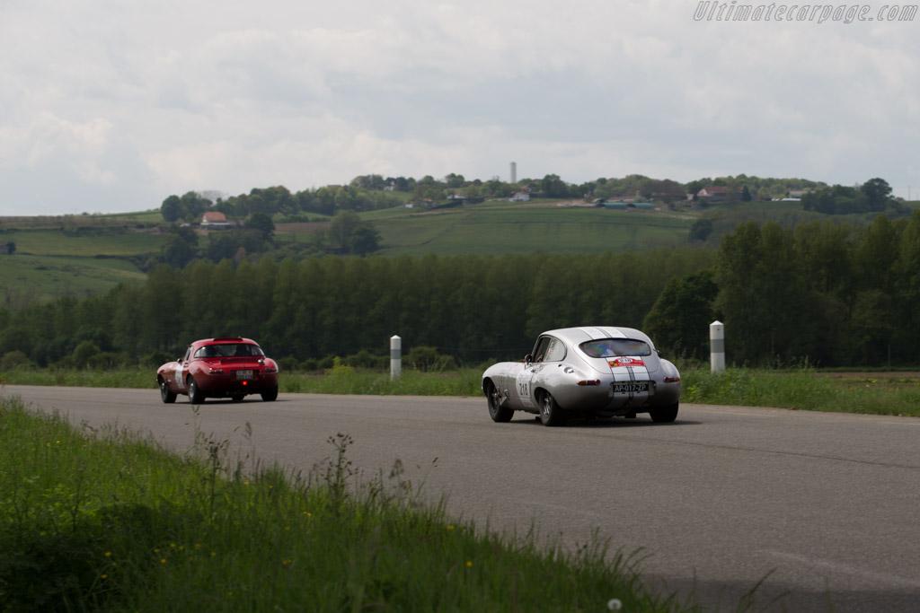 Jaguar E-Type 3.8 - Chassis: 860343 - Driver: Ludovic Le Boeuf / Dimitri Le Boeuf  - 2015 Tour Auto