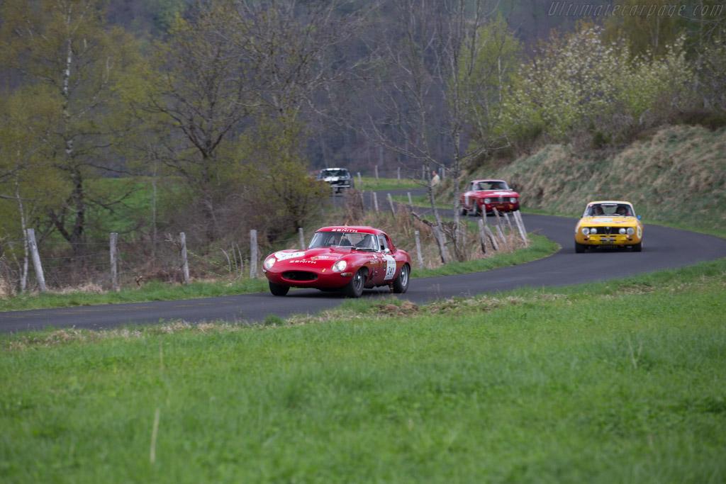 Jaguar E-Type 3.8  - Driver: Daniel Spadini / Aldo Magada  - 2015 Tour Auto