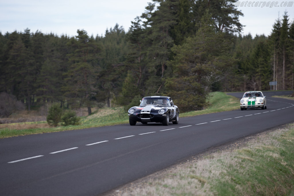 Jaguar E-Type 3.8 - Chassis: 861371 - Driver: Serge Cozzilino / Pascale Cozzolino Legay  - 2015 Tour Auto