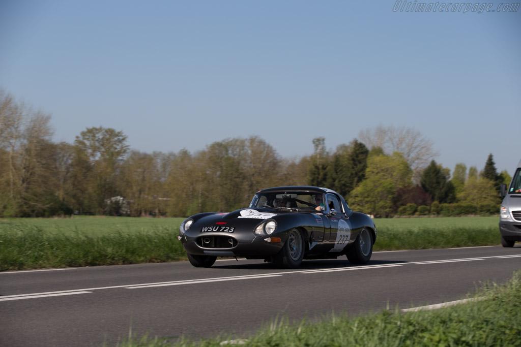Jaguar E-Type 3.8  - Driver: Franck Augis / Xavier Champagnon  - 2015 Tour Auto