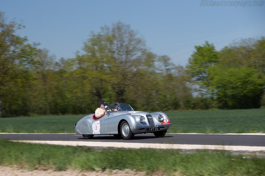 Jaguar XK120 - Chassis: 660892 - Driver: Jonathan Miles / Christine Miles - 2015 Tour Auto