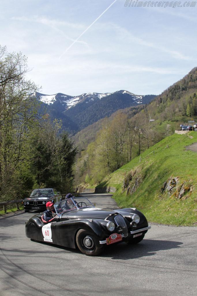 Jaguar XK120 OTS - Chassis: 671763 - Driver: Martin Sabatie-Garat / Jean-Victor Annicchiarico  - 2015 Tour Auto
