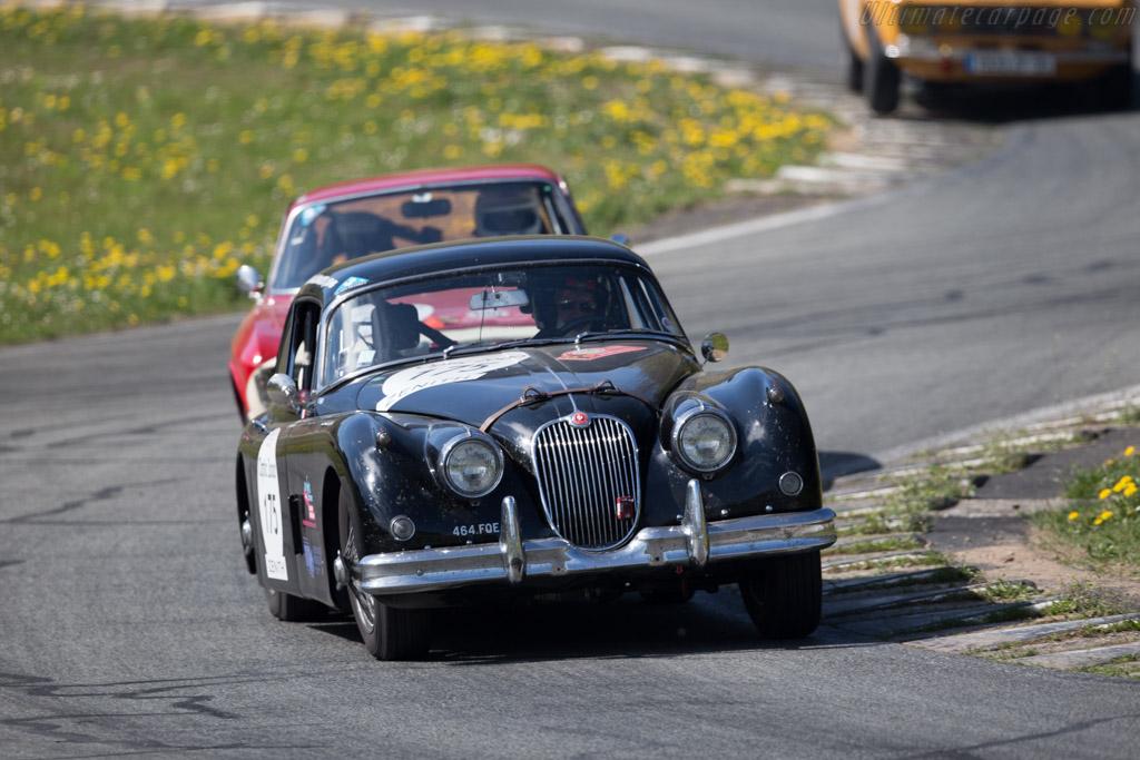 Jaguar XK150 S - Chassis: 836853 - Driver: Frederic Lemos / Magali Lemos  - 2015 Tour Auto