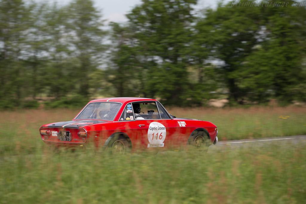 Lancia Fulvia 1.6 HF Fanalone  - Driver: David Danglard / Franck Danglard  - 2015 Tour Auto