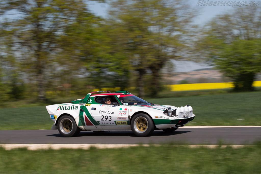 Lancia Stratos Group IV - Chassis: 829AR0 001849 - Driver: Nicolas Leroy-Fleuriot / Isabelle Gounin-Levy  - 2015 Tour Auto
