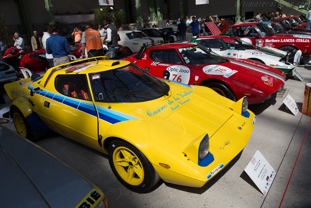 Lancia Stratos Group IV  - Driver: Flavio Puccinelli / Brett Lindsay  - 2015 Tour Auto