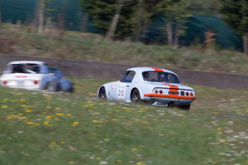 Lotus Elan  - Driver: Stephane Gutzwiller / Robert Vantaggi  - 2015 Tour Auto