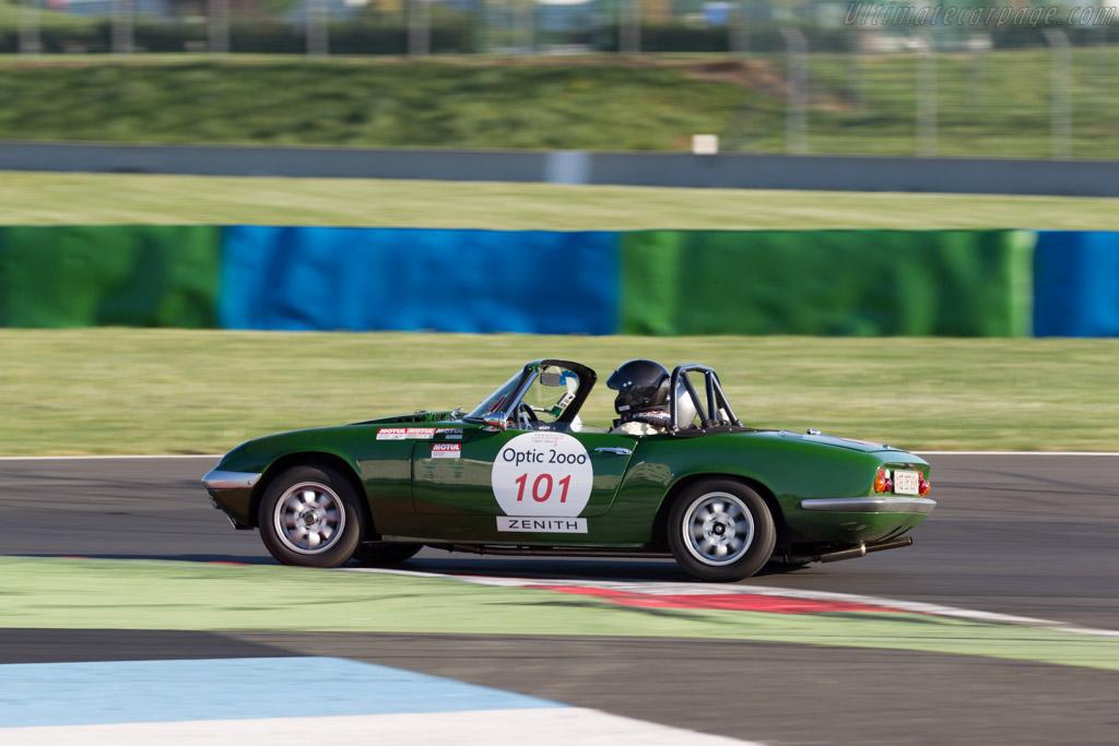 Lotus Elan  - Driver: Jon A. Pinosch / Michel Buzzi  - 2015 Tour Auto