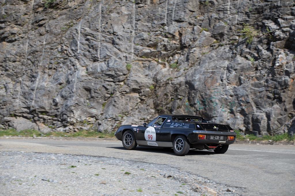 Lotus Europa Special - Chassis: 74-1185Q - Driver: Jean-Claude Goussard / Pascal Defaye - 2015 Tour Auto
